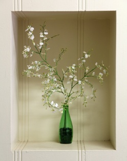 White Flowers in Nook