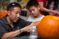 Elementary Pumpkin Carving