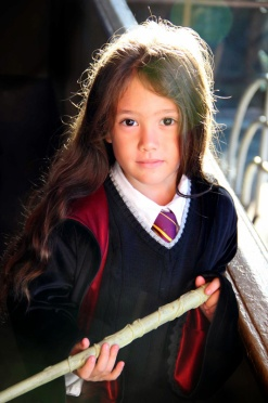 Tai, dressed up as Hermione