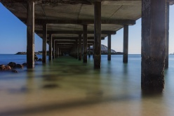 Under the Research Pier