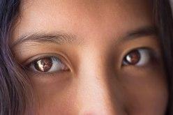 Closeup Image of Brown Eyes