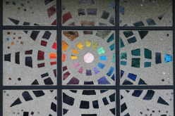 Stained Glass in Concrete