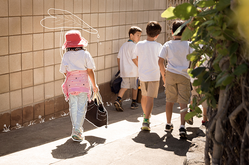 Whimsical Look at Elementary Students